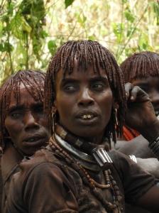 Vrouwen Hamar tribe